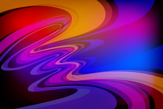 abstract color wave pattern